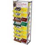 Strathmore® Fine Art Pad Display Rack: Rack, (model ST79-24D), price per each
