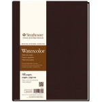 "Strathmore® 400 Series 8 1/2"" x 11"" Sewn Bound Watercolor Art Journal; Color: White/Ivory; Format: Journal; Quantity: 48 Sheets; Size: 8 1/2"" x 11""; Texture: Cold Press; Type: Watercolor; (model ST467-8), price per each"