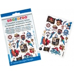 Snazaroo™ Pirate Themed Temporary Tattoos: Multi, Tattoo, (model 1198313), price per each