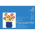 "Strathmore® 100 Series 12"" x 18"" Tape Bound Fingerpaint Pad; Binding: Tape Bound; Color: White/Ivory; Format: Pad; Quantity: 30 Sheets; Size: 12"" x 18""; Type: Painting; (model ST27-118-1), price per 30 Sheets pad"