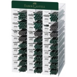 Faber-Castell® Complete Graphite Pencil Display Assortment: Black/Gray, Drawing, (model FC119090D), price per each