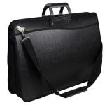 "Prestige™ Studio™ Series MAX 17"" x 22"" Heavy-Duty Portfolio: Black/Gray, Polypropylene, 17"" x 22"", (model HD1722), price per each"