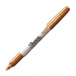 Sharpie® Fine Point Metallic Bronze Permanent Marker: Metallic, Fine Nib, (model SN1823890), price per each