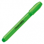 Sharpie® SmearBlock™ Green Gel Highlighter; Color: Green; (model SN1809549), price per each