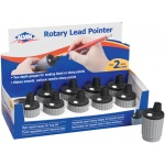 Alvin® Rotary Lead Pointer Display: One, Plastic, Manual, (model ALP41D), price per each