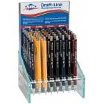 Alvin® Draft-Line Mechanical Pencil Display; Lead Color: Black/Gray, Multi; Type: Mechanical; (model XA300D), price per each