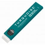 Prismacolor® Turquoise® 2mm Lead 2H: 2H, Black/Gray, 2mm, 12-Pack, Lead, (model E2375-2H), price per 12-Pack