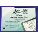 Susan Scheewe White Transfer Paper: 6 Sheets
