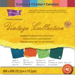 "Core'dinations Vintage Collection Pad: 6"" x 6"""