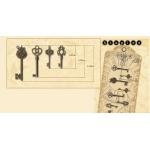 Graphic 45 Staples Ornate Metal Key