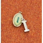 Making Memories Vintage Groove by Jill Schwartz Charms: Alpha I