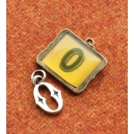 Making Memories Vintage Groove by Jill Schwartz Charms: Alpha O