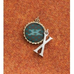 Making Memories Vintage Groove by Jill Schwartz Charms: Alpha X