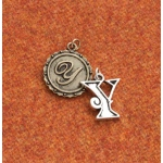 Making Memories Vintage Groove by Jill Schwartz Charms: Alpha Y