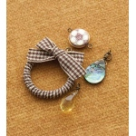 Making Memories Vintage Groove by Jill Schwartz Design Combos: Ribbon Wreath