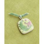 Making Memories Vintage Groove by Jill Schwartz Pendants: Ceramic, Floral