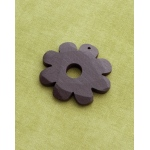 Making Memories Vintage Groove by Jill Schwartz Pendants: Wood Flower