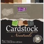 "Core'dinations Cardstock Neutrals Paper: 12"" x 12"""