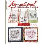 Design Originals: Zensational Stitches: Quilting