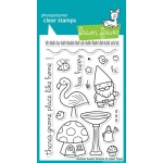 Lawn Fawn Gnome Sweet Gnome Stamp Set