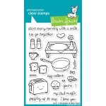 Lawn Fawn Love n Breakfast Stamp Set