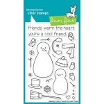 Lawn Fawn Making Frosty Friends Stamp Set