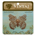 Vintaj Filigree: Butterfly, 46mm