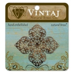 Vintaj Filigree: Clover Petal, 59mm