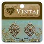 Vintaj Filigree: Diamond, 15 x 21mm