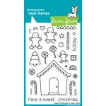 Lawn Fawn Sweet Christmas Stamp Set