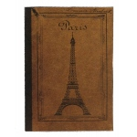 "7Gypsies Book Cover: Paris, 5"" x 7"""