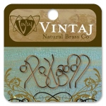 Vintaj Findings French Ear Wires: 20 x 10mm