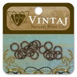 Vintaj Findings Jump Rings: 7.25mm