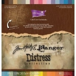 "Core'Dinations Tim Holtz and Ranger Distress Collection Cardstock: Distressed, 12"" x 12"", Assorted Pack"