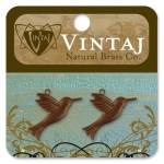 Vintaj Hummingbird: 28 x 16mm