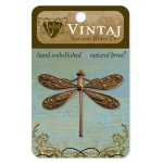 Vintaj Ornate Dragonfly: 50 x 39mm
