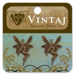 Vintaj Whimsical Fairy: 25mm x 17mm