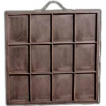 7Gypsies Displays Artist Printers Tray Display: Black
