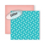 "GCD Studios Material Girls Paper: Best Friend Glitter, 12"" x 12"""