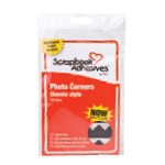 Scrapbook Adhesives by 3L Photo Corners Classic Style: Black