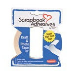 Scrapbook Adhesives by 3L Crafty Power Tape with Built in Dispenser
