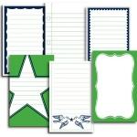 Jenni Bowlin Studio Journal Cards: Varsity Line