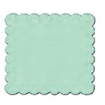 Marvy Craft Lever Xtra Giga Craft Punch Scalloped: Square
