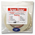"Scor-Tape: 1/4"",  27 Yards"