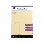 "Ranger Inkssentials Manila Tags & Manila Cardstock: 8.5"" x 11"", Pack of 10"