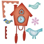 Spellbinders Nestabilities by Samantha Walker: Cuckoo Clock