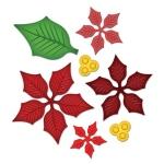 Spellbinders Shapeabilities: Layered Poinsettia