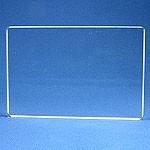"Apple Pie Memories Acrylic Stamping Block: Plain, 6"" x 6"""