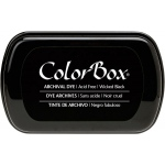 Clearsnap ColorBox Archival Dye Inkpad: Wicked Black