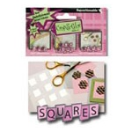 "Glue Arts Repositionable Refill: 1/2"" Squares"